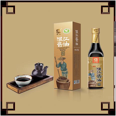 温江酱油(一级)精装500ml